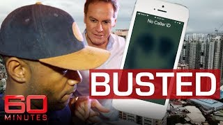Download Reporter tracks down scammers in dramatic raid   60 Minutes Australia Video