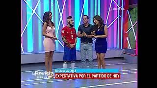 Download Humor: 'Arturo Vidal' nos visitó y nos contó su expectativa del partido de hoy Video