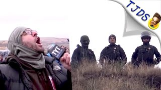 Download Criminal Cops At DAPL Shouted At By A Real Reporter, Their Response? Enraging Video
