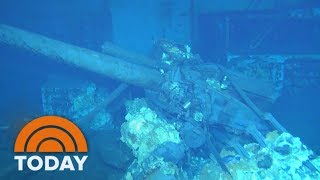 Download An Exclusive First Look Inside USS Indianapolis Wreckage Underwater | TODAY Video