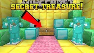 Download Minecraft: I FOUND A SECRET TREASURE ROOM!! - HEAD HUNTER THEME PARK [12] Video