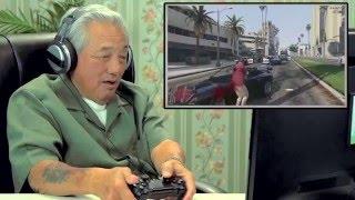 Download 노인분들 GTA 5 플레이 반응! Video