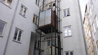 Download Amazing Historic Outdoor Elevator! Video