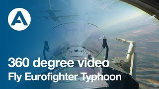 Download 360 degree video: Fly Eurofighter Typhoon! Video
