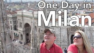 Download One Day in Milan, Italy: il Duomo, Galleria, Sforza Castle, & Leonardo da Vinci's Last Supper Video