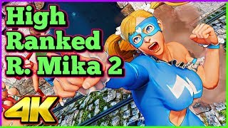 Download High Ranked R. Mika Compilation 2 | Street Fighter 5 AE | 4K Ultra HD - 60fps - PC | Shadaloo Stew Video