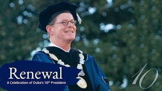 Download Renewal: Highlights from the Inauguration of Vincent E. Price Video