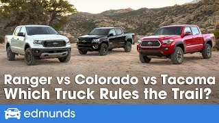 Download Ford Ranger vs Toyota Tacoma vs Chevy Colorado: 2019 Truck Comparison Test | Edmunds Video