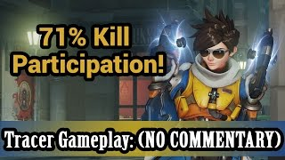 Download Overwatch: 71% Kill Participation! Tracer Gameplay (NO COMMENTARY) (1080HD 60FPS) Video