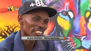 Download Mgaagaa na upwa: Tunamuangazia Mkenya aliyebobea katika sanaa ya uchoraji, Dubai Video
