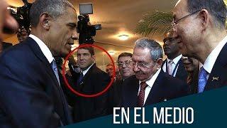 Download Un guardaespaldas muy metiche: el nieto de Raúl Castro (HUMOR) Video