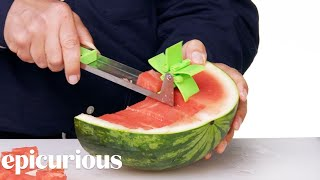 Download 7 Slicing Kitchen Gadgets Improved by Design Expert | Epicurious Video