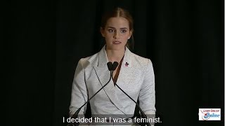 Download Learn English with Emma Watson's Speech on the HeForShe Campaign - English Subtitle Video