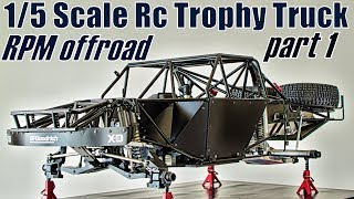 Download 1/5 SCALE RC Trophy Truck : RPM Offroad (PT1) Video