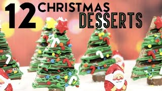 Download 12 Christmas Desserts IN ONE VIDEO - Kit Kat Forest, Hersheys House, Cakes, Cupcakes and more! Video