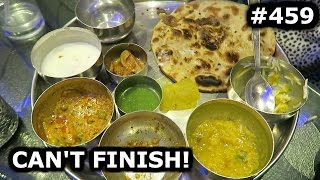 Download CAN'T FINISH THIS THALI AND TRYING PETHA | AGRA DAY 459 | INDIA | TRAVEL VLOG IV Video