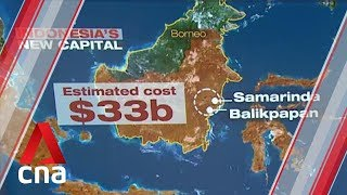 Download Indonesia picks Borneo island as site for new capital Video