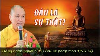 Download Thầy Chân Tính tiết lộ SƯ THẬT về pháp môn TỊNH ĐỘ khiến hàng ngàn người HOANG MANG. Video