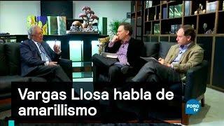 Download Vargas Llosa habla de amarillismo - Es la Hora de Opinar Video