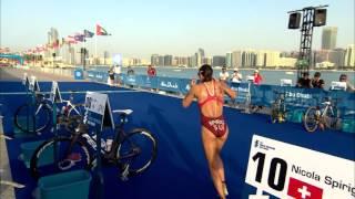 Download 2016 Abu Dhabi World Triathlon - Elite Women's highlights Video