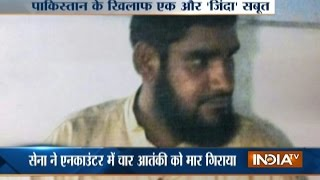 Download Terrorist From Pakistan Caught Alive In An Encounter In J&K Video