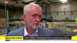Download Jeremy Corbyn I was present when the wreath was laid I don't think I was actually involved in it Video