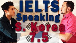 Download IELTS Speaking Interview Over Band 7 S. Korea w Subtitles Video