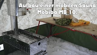 Download Aufbau einer mobilen Sauna Mobiba MB 10 | Harz Video