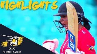 Download Harmanpreet Kaur Hits Winning 6 At The Death! | Stars v Thunder | Kia Super League 2018 - Highlights Video