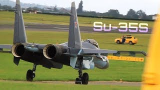 Download SU-35S at Paris Le Bourget 2013 [Remastered] - HD 50fps Video
