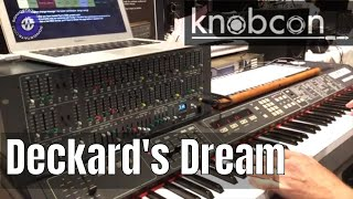 Download Knobcon 2018: Deckard's Dream With Paul Schilling Video