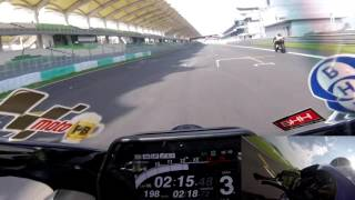 Download Sepang on board lap time - 2:18s - 2015 Yamaha R1M Video