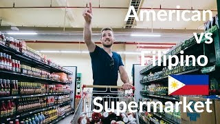 Download American Vs FILIPINO SUPERMARKET - Different?! Video