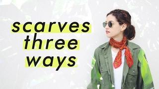 Download Three (more) ways to wear vintage scarves Video
