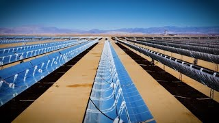 Download Noor Ouarzazate: world's largest Concentrated Solar Power Complex | Sustainable Energy Video