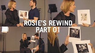 Download Rosie Reacts to some of her most iconic images with Derek Blasberg Video