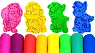 Download Paw Patrol Play Doh Molds Surprise Toys & Paw Patrol Drawing with Skye Everest Chase Rubble Rocky Video