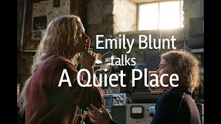 Download Emily Blunt interviewed by Clarisse Loughrey Video