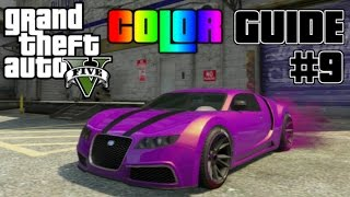 Download GTA V - Ultimate Color Guide #9 | Best Colors Combos for Truffade Adder Video