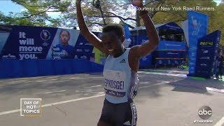 Download Congrats to NYC Marathon Runners!   The View Video