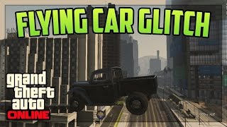 Download GTA 5 Online - *NEW* FLYING CAR GLITCH! Patch 1.27/1.31 (GTA 5 Online Glitches) Video