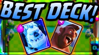 Download Best F2P Ice Golem Deck and Strategy for Arena 9 | Clash Royale | Tips, Guides, and Strategy! Video