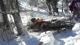 Download Survival Overnighter On Extreme Cold Temperature Video