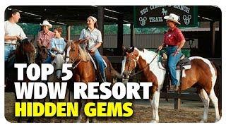 Download TOP 5 WDW Resort Hidden Gems | Best & Worst | 06/21/17 Video