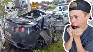 Download REACTING TO GTR CAR CRASHES! Video