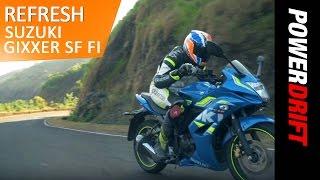 Download Is the New Suzuki Gixxer SF Fi worth the premium? : PowerDrift Refresh Video