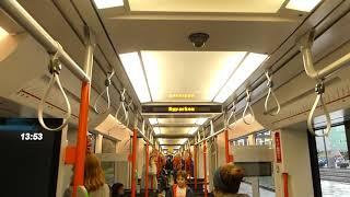 Download Bystasjonen to Byparken on the Bergen Tram Bystasjonen til Byparken på Bergen Tram Video