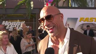 Download Hobbs & Shaw WORLD Premiere with Dwayne Johnson Video