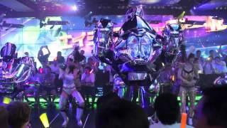 Download Robot Restaurant in Kabukicho, Shinjuku, Tokyo (ロボットレストラン) Video