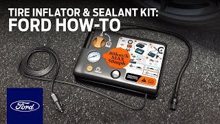 Download Tire Inflator and Sealant Kit | Ford How-To | Ford Video